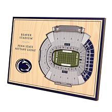 Officially Licensed NCAA 3D StadiumViews Desktop Display - Penn State