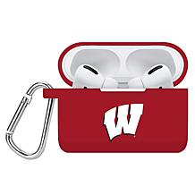 Officially Licensed NCAA Apple AirPods Pro Case Cover - WI Badgers