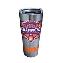 Officially licensed NCAA Clemson 2018 Champions 30 oz. Tumbler w/lid