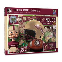 Officially Licensed NCAA FSU Seminoles Retro Series 500-Piece Puzzle