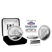Officially Licensed NFL 39mm Silverplate 2021 Game Coin