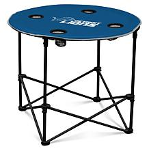 Officially Licensed NFL by Logo Chair Round Table - Detroit Lions