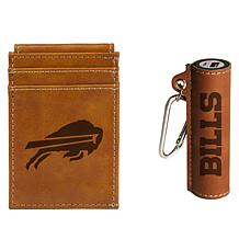 Officially Licensed NFL Power Bank and Wallet Gift Set