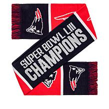 Officially Licensed NFL Super Bowl LIII Champions Scarf