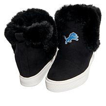 Officially Licensed NFL Women's Slip-On Wedge Bootie   by Cuce Shoes