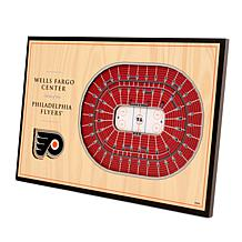 Officially-Licensed NHL 3-D StadiumViews Display - Philadelphia Flyers