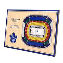 Officially-Licensed NHL 3-D StadiumViews Display - Toronto Maple Le...