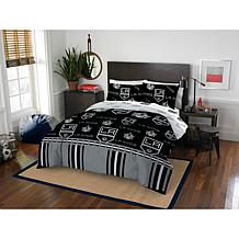 Officially Licensed NHL 864 Full Bed In a Bag Set - Los Angeles Kings