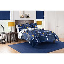 Officially Licensed NHL 864 Full Bed In a Bag Set - St. Louis Blues