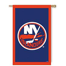 Officially Licensed NHL Applique House Flag - New York Islanders