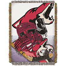 Officially Licensed NHL Home Ice Advantage Tapestry Throw - Coyotes