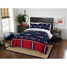 Officially Licensed NHL Queen Bed in a Bag Set - Washington Capitals