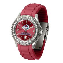 Officially Licensed NHL Sparkle Series Watch - Colorado Avalanche