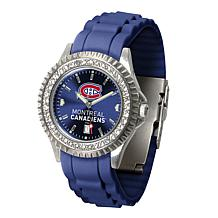 Officially Licensed NHL Sparkle Series Watch - Montreal Canadiens