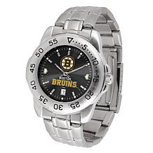 Officially Licensed NHL Sport Steel Series Watch - Boston Bruins