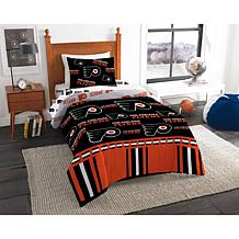 Officially Licensed NHL Twin Bed In a Bag Set - Philadelphia Flyers