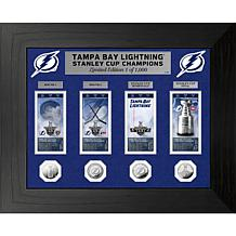 Officially Licensed Tampa 2021 Stanley Cup Coin & Ticket Collection