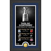 Officially Licensed Tampa Bay Lightning Bronze Coin Legacy Photo Mint