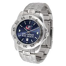 OfficiallyLicensed NHL SportSteel Series Watch - Columbus Blue Jackets