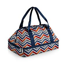 Oniva by Picnic Time Potluck Tote Vibe Collection - Blue/Orange/Gray