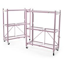 Origami Steel Heavy Duty 3-Tier Rack 2-pack