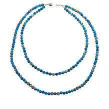 Ottoman Silver 2-Strand Gemstone Bead Necklace