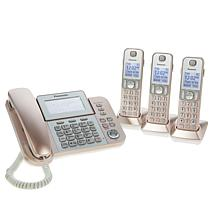 Panasonic Corded and Cordless Phone System w/Call Block