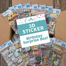 Paper House Birthday Surprise Set of 44 Dimensional Sticker Sheets
