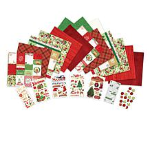 Paper House Merry & Bright Paper Crafting Set