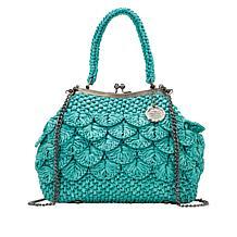 Patricia Nash Laureana Crochet Frame Satchel