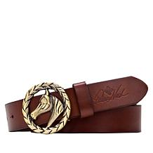 Patricia Nash Morely Leather Adjustable Belt