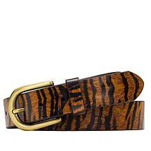 Patricia Nash Vietri Adjustable Printed Leather Belt