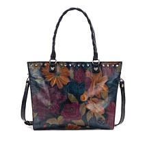 Patricia Nash Zancona Leather Peruvian Painting Tote