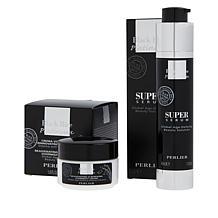 Perlier Black Rice Serum and Night Cream 2-piece Set