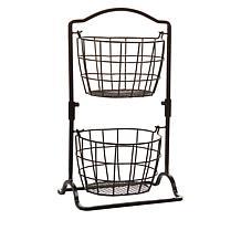 Pfaltzgraff 2-Tier Hanging Basket