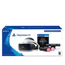 "PlayStation Virtual Reality Headset with ""Skyrim"" Virtual Reality Game"
