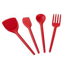PrepOn Kitchen 4-piece Silicone Tool Set