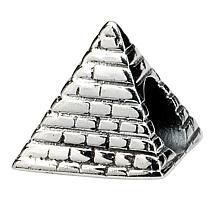 Prerogatives Sterling Silver Pyramid Bead