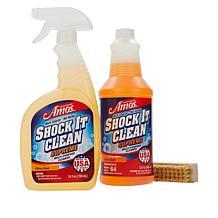 Professor Amos Shock It Clean Supreme 56 oz. Kit with Tampico Brush