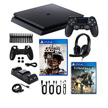 PS4 Slim 1TB Console with Greatest Hits 4-Game Bundle