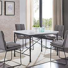 Rance Faux Marble Dining Table