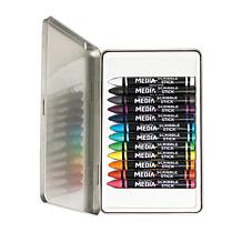 Ranger Dina Wakley Media Scribble Sticks Set #1 - 12 Pieces