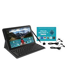 """RCA Pro 10"""" HD Quad-Core Tablet with Keyboard, Headphones & App Pack"""