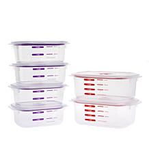 RealSeal 12-piece Airtight Leak-Proof Food Storage Set