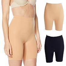 Rhonda Shear Lightweight Longline Shaper Panty 2-pack