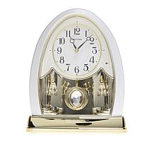 RHYTHM Joyful Noise Crystal Bells Clock