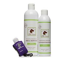 Royal Treatment Shampoo and Conditioner Duo with Bottle and Clip