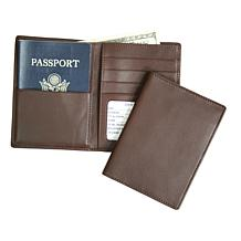 Royce RFID-Blocking Leather Travel Wallet