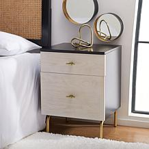 Safavieh Genevieve 2-Drawer Nightstand