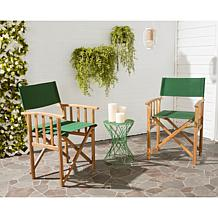 Safavieh Laguna Director Chairs - Set of 2